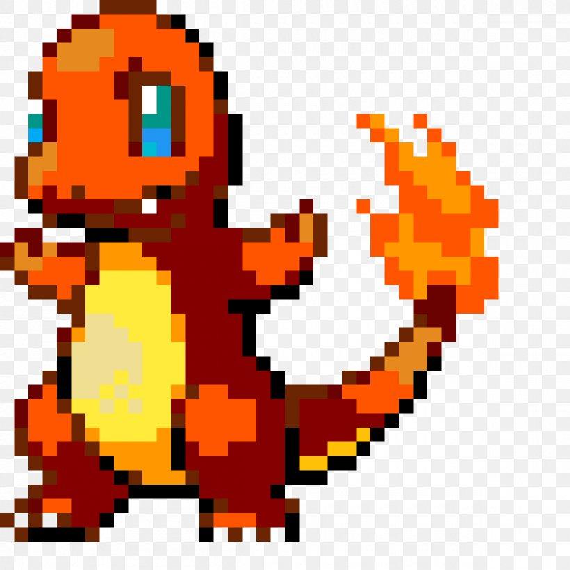 Charmander Pikachu Gif Pokémon Pixel Art Png 1200x1200px