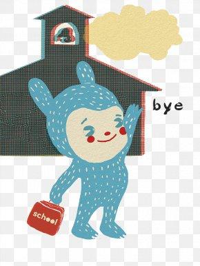 Cartoon Illustration Waving Goodbye - Royalty-free Cartoon Stock Illustration Illustration PNG