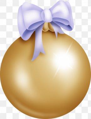 Orb - Christmas Ornament Ball Clip Art PNG
