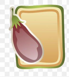 Cartoon Eggplant - Eggplant Jam Lasagne Euclidean Vector PNG