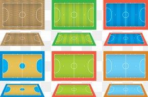 Vector Ball Games - Basketball Court Ball Game PNG