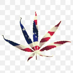 American - Cannabis Flag Of The United States Leaf PNG