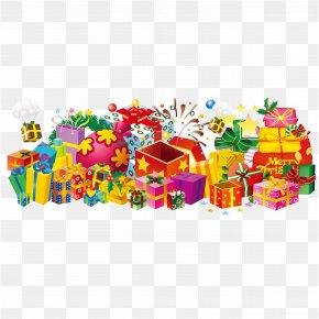 Christmas Gift Vector Material - Christmas Gift Christmas Gift Clip Art PNG