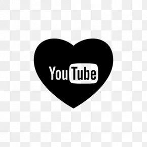 Youtube - YouTube Heart Logo PNG