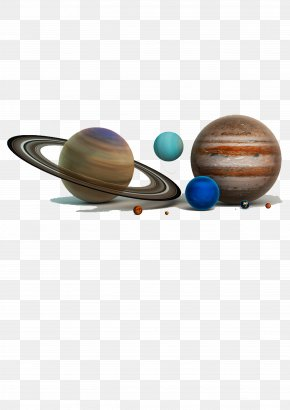 Planetary Assemblage - Planet Solar System Universe Wallpaper PNG