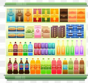 Supermarket Grocery Store Shelf Clip Art, PNG, 4240x4000px ...