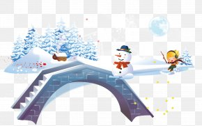 Snowman Winter Snow Children Creative Tourism - Winter Child PNG