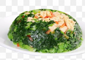 Peach Kale - Chinese Broccoli Chinese Cuisine Vegetarian Cuisine Stamppot PNG