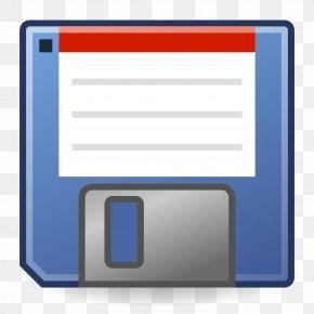 File - Floppy Disk Disk Storage Hard Drives Clip Art PNG