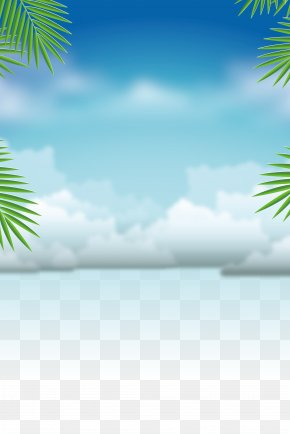 Swimming Training Summer Background Material - Summer Vacation PNG