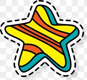 Colorful Cartoon Starfish - Starfish Five-pointed Star Cartoon Clip Art PNG