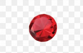 Ruby - Red Circle Font PNG
