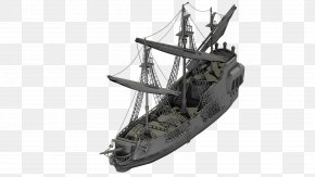 Pirate Ship - 3D Modeling Ship 3D Computer Graphics Piracy Low Poly PNG