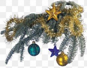 Needle - Christmas Card Ded Moroz New Year Santa Claus PNG