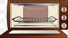 Brown Microwave - Microwave Oven Clip Art PNG