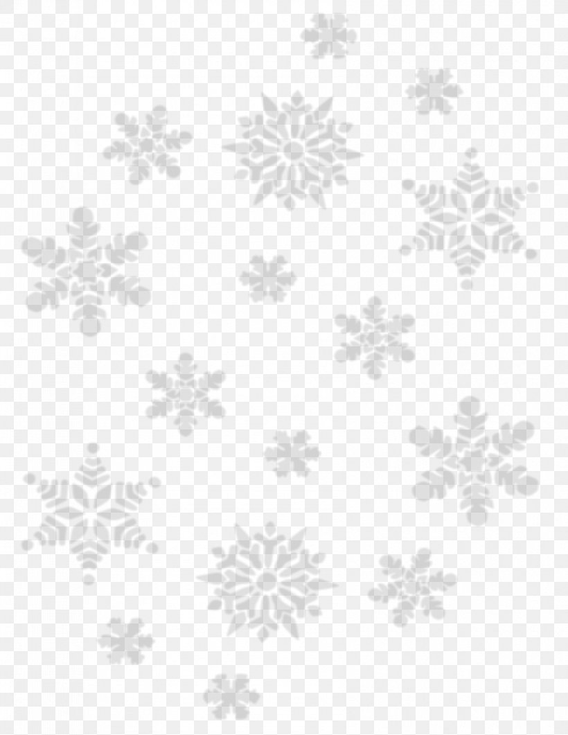 Snowflake Icon, PNG, 850x1100px, Black And White, Area, Christmas, Drawing, Monochrome Download Free