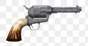 Handgun - Fallout: New Vegas Revolver .357 Magnum Cartuccia Magnum Weapon PNG