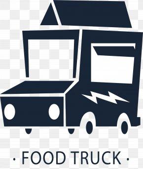 Dark Blue Fast Food Car - Fast Food Hamburger Mexican Cuisine Breakfast Food Truck PNG