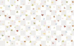 Heart-shaped Shading - Textile Line Point Pattern PNG