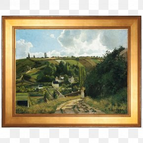 Painting - Jalais Hill, Pontoise Metropolitan Museum Of Art The Hermitage At Pontoise Work Of Art PNG