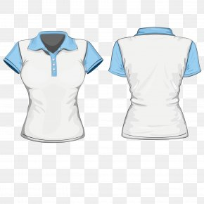 Vector Pattern Material Suit Service Blue - T-shirt Sleeve Polo Shirt Stock Photography PNG