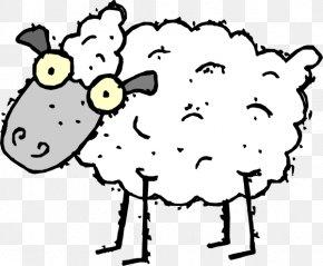 Sheep Pictures Cartoons - Sheep Cartoon Clip Art PNG