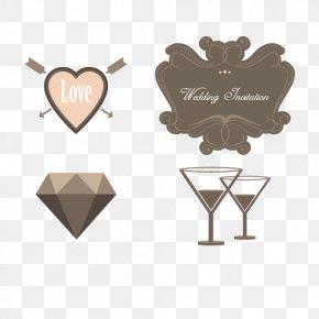 Vector Wedding Brand - Wedding Invitation Cocktail Euclidean Vector PNG