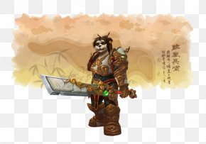 Chinese Fan - World Of Warcraft: Mists Of Pandaria Pandaren Fan Art PNG
