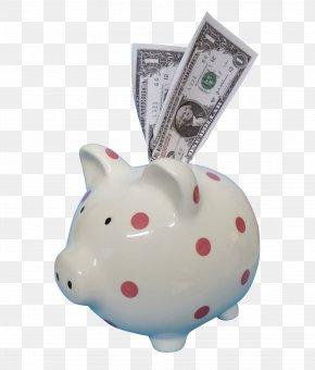 Piggy Bank - Piggy Bank Saving Money PNG