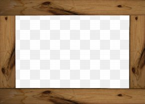 Brown Wood Frame Creative - Floor Wood Molding Picture Frame Brown PNG