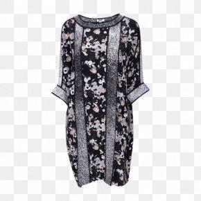 Ms. Bat Sleeve Dress - T-shirt Sleeve Dress Designer PNG
