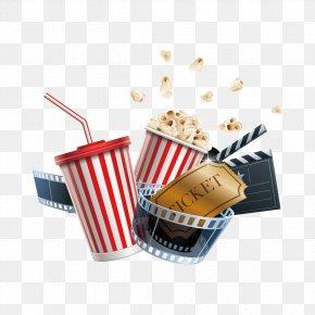 Cinema Creative - Cinema Film Clapperboard Illustration PNG