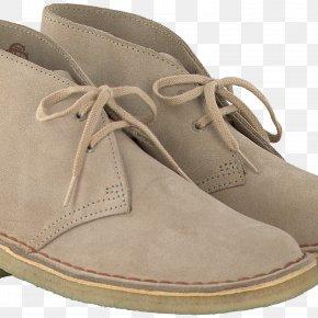 Boot - Suede C. & J. Clark Boot Shoe Beige PNG