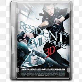 Resident Evil Afterlife V3 - Poster Action Figure Film PNG