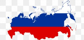 Long Term - Flag Of Russia Map National Flag PNG