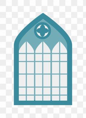 Church Windows - Church Altar Euclidean Vector Graphic Design PNG