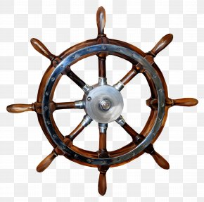 Paddle - Ship's Wheel Boat Rudder PNG