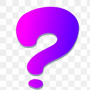 Question Mark - Question Mark Sentence Icon PNG