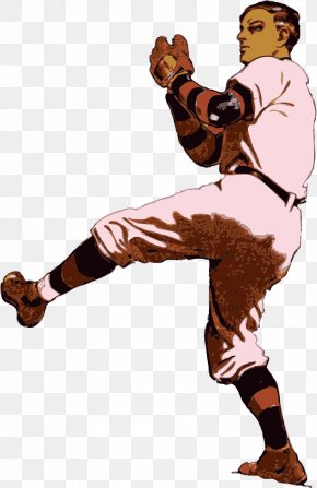 Baseball - Baseball Pitcher Batting Clip Art PNG