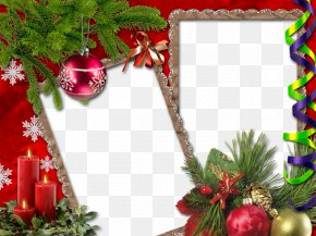 Christmas Frame Graphic Design Image - Christmas Card Picture Frame PNG