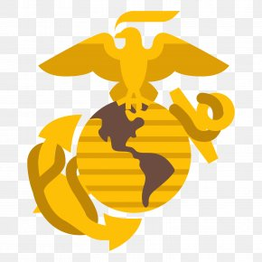United States - Clip Art United States Marine Corps Marines Eagle, Globe, And Anchor PNG