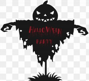 Halloween Party Scarecrow Clip Art Image - Monkey Mania Campbelltown Halloween Clip Art PNG
