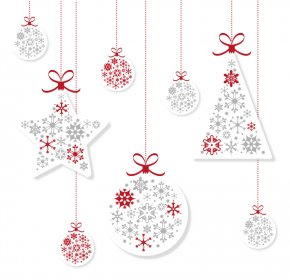 Vector Christmas Lights Decoration - Christmas Decoration Christmas Tree Christmas Ornament PNG