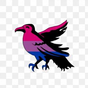 Aesthetic Badge - Clip Art Beak Purple Feather Ravenclaw House PNG