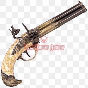 Trigger Revolver Flintlock Gun Barrel Firearm PNG