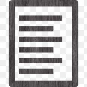 Black Wood - Text File Plain Text Computer Software PNG
