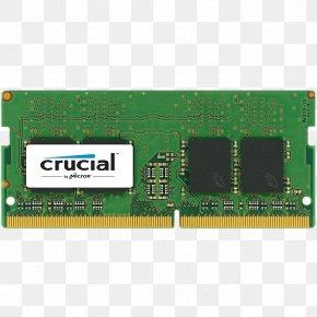 Laptop - Laptop DDR4 SDRAM SO-DIMM Computer Data Storage PNG