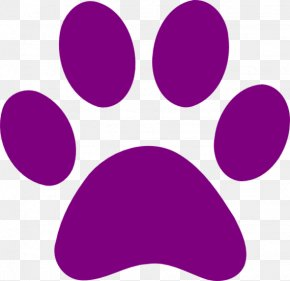 Paw Print Cliparts - Dog Cougar Cat Paw Tiger PNG