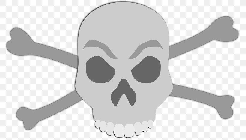 Skull And Crossbones Clip Art Vector Graphics, PNG, 800x467px, Skull, Anatomy, Beak, Bird, Bone Download Free