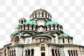 Sophia Cathedral - Alexander Nevsky Cathedral, Sofia Bratislava Airport Byzantine Revival Architecture PNG